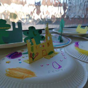 TOP kids craft - creating the gardens of Jannah